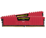 Corsair 16GB 2133MHz Vengeance LPX Red CL13 (2x8GB) - 257997 - zdjęcie 2