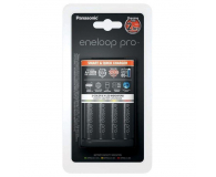 Panasonic BQ-CC55 + 4 x R6/AA ENELOOP PRO 2500 mAh - 332707 - zdjęcie 1