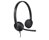 Logitech H340 Headset czarne z mikrofonem - 120306 - zdjęcie 2