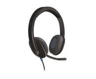 Logitech H540 Headset czarne z mikrofonem - 122603 - zdjęcie 1