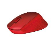Logitech M330 Silent Plus (czerwona) - 329392 - zdjęcie 3