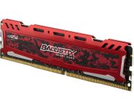 Crucial 8GB 2400MHz Ballistix Sport LT Red CL16 - 339377 - zdjęcie 2