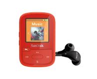 SanDisk Clip Sport Plus 16GB czerwony (bluetooth,tuner FM) - 338593 - zdjęcie 1