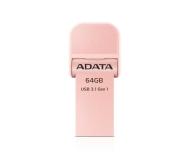 ADATA 64GB i-Memory AI920 rose gold (USB 3.1+Lightning) - 339471 - zdjęcie 2