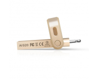 ADATA 64GB i-Memory AI920 gold (USB 3.1+Lightning)  - 339468 - zdjęcie 4
