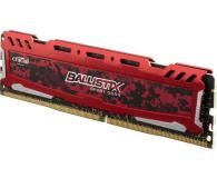 Crucial 16GB (2x8GB) 3000MHz CL15 Ballistix Sport LT Red  - 509888 - zdjęcie 3