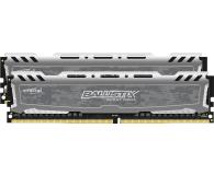 Crucial 32GB 2400MHz Ballistix Sport LT Gray CL16 (2x16GB) - 340035 - zdjęcie 2