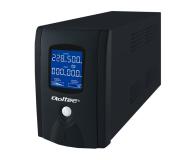 Qoltec UPS (1000VA/600W, IEC, 3xSchuko, LCD) - 337994 - zdjęcie 1