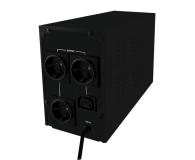 Qoltec UPS (1000VA/600W, IEC, 3xSchuko, LCD) - 337994 - zdjęcie 2