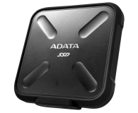 ADATA 256GB USB 3.1 External SD700 Durable Black - 340497 - zdjęcie 2