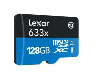 Lexar 128GB microSDXC 633x 95MB/s + adapter - 318645 - zdjęcie 2
