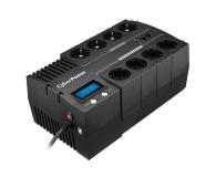CyberPower UPS BR700ELCD-FR (700VA/420W, 8xFR, AVR) - 338486 - zdjęcie 1