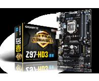 Gigabyte GA-Z97-HD3 (Z97 2xPCI-E DDR3) - 186080 - zdjęcie 1