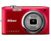 Nikon Coolpix A100 czerwony - 302526 - zdjęcie 1