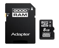 GOODRAM 8GB microSDHC zapis5MB/s odczyt15MB/s+adapter - 303118 - zdjęcie 2