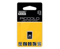 GOODRAM 8GB Piccolo zapis 5MB/s odczyt 20MB/s czarny - 303187 - zdjęcie 2