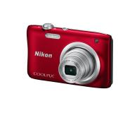 Nikon Coolpix A100 czerwony - 302526 - zdjęcie 2