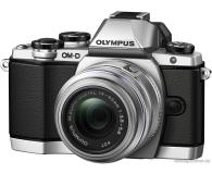 Olympus E-M10 Mark II srebrny + EZ-M 14-42 EZ  - 302775 - zdjęcie 1