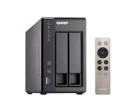QNAP TS-251+-2G (2xHDD, 4x2-2.42GHz, 2GB, 4xUSB, 2xLAN) - 300240 - zdjęcie 3