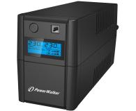 Power Walker VI 650 SE LCD (650VA/360W, 2xPL, USB, LCD, AVR) - 208709 - zdjęcie 1