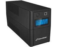 Power Walker VI 650 SE LCD (650VA/360W, 2xPL, USB, LCD, AVR) - 208709 - zdjęcie 2