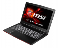 MSI GE62 Apache i7-6700HQ/16GB/256+1000 GTX960M FHD  - 269878 - zdjęcie 1