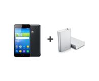 Huawei Y6 LTE Dual SIM czarny + Powerbank 13 000 mAh - 308287 - zdjęcie 1
