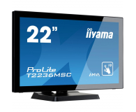 iiyama T2236MSC dotykowy czarny - 281145 - zdjęcie 2