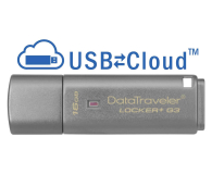 Kingston 16GB DataTraveler Locker+ G3 (USB 3.0) 135MB/s - 169208 - zdjęcie 2
