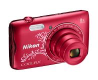Nikon Coolpix A300 czerwony z ornamentem - 314043 - zdjęcie 4