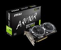 Karta graficzna NVIDIA MSI GeForce GTX 1080 ARMOR OC 8GB GDDR5X