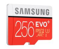 Samsung 256GB microSDXC Evo+ zapis 90MB/s odczyt 95MB/s  - 310212 - zdjęcie 2