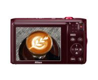 Nikon Coolpix A300 czerwony z ornamentem - 314043 - zdjęcie 3