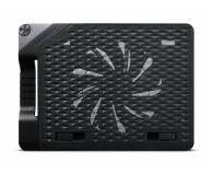 """Cooler Master NotePal Ergostand III (do 17"""", 4x USB, czarna) - 316413 - zdjęcie 3"""
