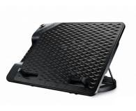 "Cooler Master NotePal Ergostand III (do 17"", 4x USB, czarna)"