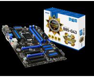 MSI B85-G43 (B85 2xPCI-E DDR3) - 150919 - zdjęcie 1