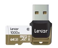 Lexar 64GB microSDXC 1000x 150MB/s + czytnik USB 3.0 - 318648 - zdjęcie 2