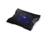 "Cooler Master NotePal XL (do 17"", aluminium, czarna) - 157752 - zdjęcie 2"