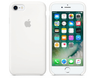 Apple Silicone Case do iPhone 7/8 White - 325687 - zdjęcie 1