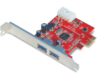 Unitek PCI Express -> 2x USB 3.0 - 326039 - zdjęcie 1