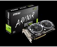 Karta graficzna NVIDIA MSI GeForce GTX 1060 ARMOR OC V1 6GB GDDR5