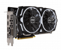 MSI GeForce GTX 1060 ARMOR 6GB + Kingston 240GB A400  - 443191 - zdjęcie 2