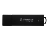 Kingston 8GB IronKey D300 zapis 22MB/s odczyt 165MB/s  - 342984 - zdjęcie 3