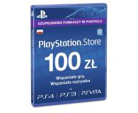 Sony PlayStation Live Card PSN 100 PLN - 346759 - zdjęcie 1