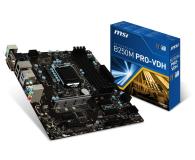 MSI B250M PRO-VDH (3xPCI-E DDR4 USB3.1/M.2)  - 342121 - zdjęcie 1