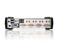 ATEN CS1734B-A7-G USB + VGA (4 komputery) - 56235 - zdjęcie 3