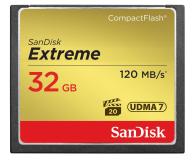 SanDisk 32GB Extreme zapis 85MB/s odczyt 120MB/s  - 226315 - zdjęcie 1