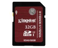 Kingston 32GB SDHC UHS-I U3 90MB/s - 174000 - zdjęcie 1