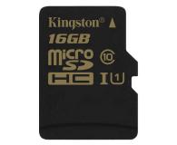 Kingston 16GB microSDHC Class10 zapis 45MB/s odczyt 90MB/s - 185516 - zdjęcie 1
