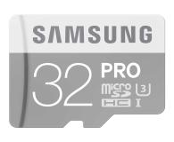 Samsung 32GB microSDHC Pro zapis 80MB/s odczyt 90MB/s  - 268168 - zdjęcie 1